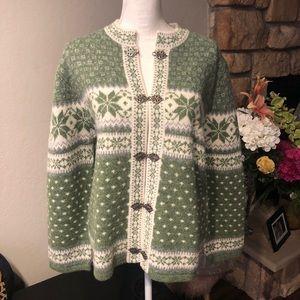 telluride clothing company wool sweater cardigan